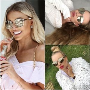 DIOR Symmetrics Grey Ar Oval Ladies Sunglasses